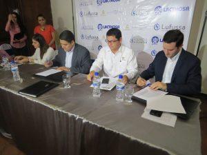 Al momento de la firma del Convenio