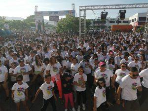 Colorida y exitosa fue la Maratón Color Lufussa en este 2019