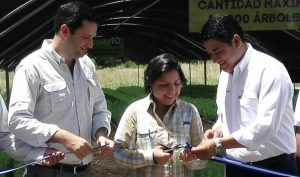 Lufussa deliver 200,000 trees to the Government of Honduras