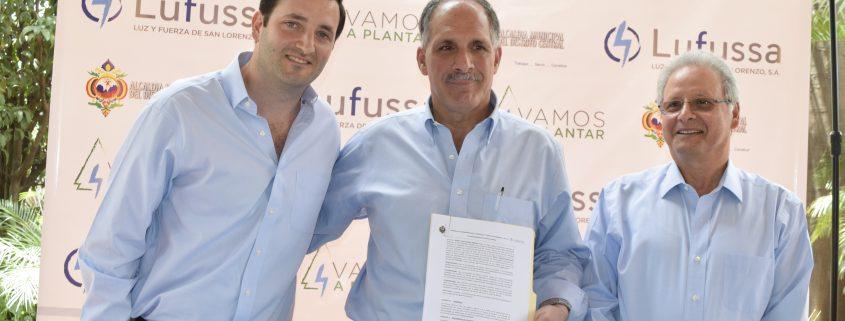 Lufussa y Alcaldía del Distrito Central firman convenio