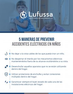 Niños y la electricidad